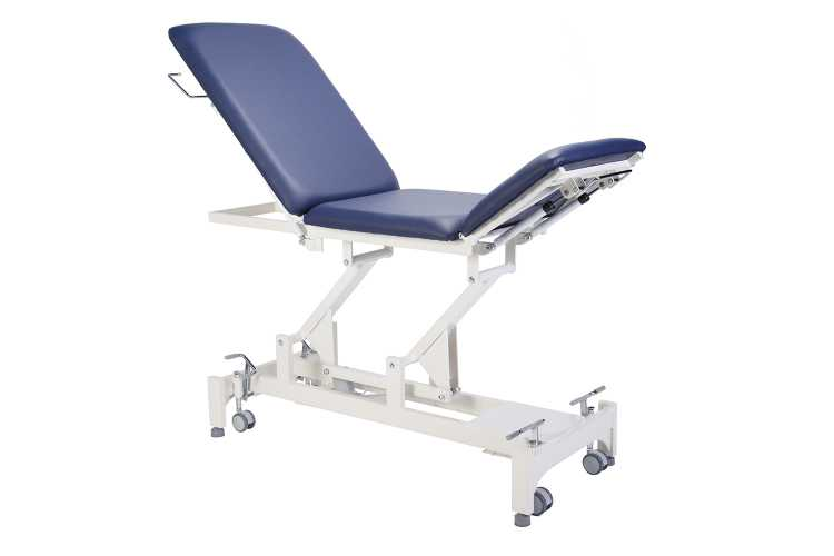 Everyway4all EU25 (TRISTAR) 3-Section Treatment Table BLUE