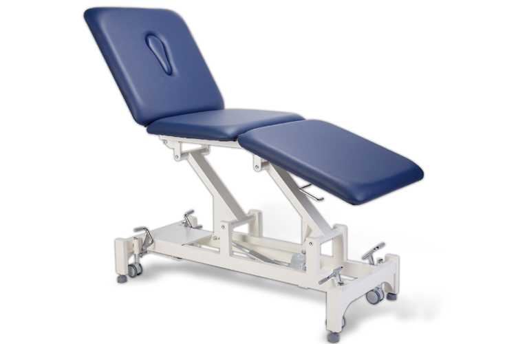 Everyway4all CA65 (TRIO) 3-Section Treatment Table BLUE