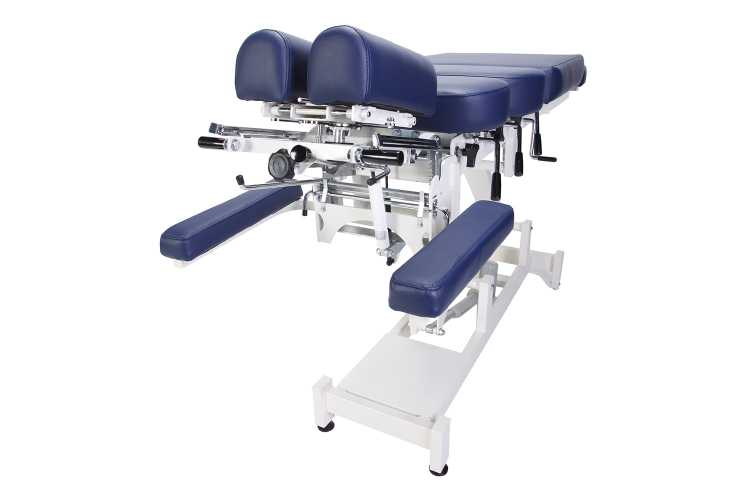 Everyway4all CA130 (CHIROMA) Chiropractic Table BLUE