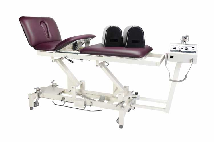 Everyway4all EU300 (TRACTION-t) Traction Table BURGUNDY