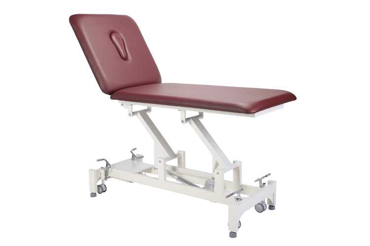 Everyway4all CA20 (DUO) 2-Section Treatment Table BURGUNDY