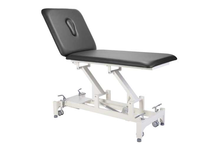 Everyway4all CA20 (DUO) 2-Section Treatment Table BLACK