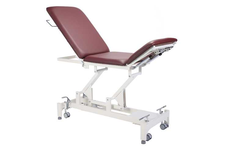 Everyway4all EU25 (TRISTAR) 3-Section Treatment Table BURGUNDY