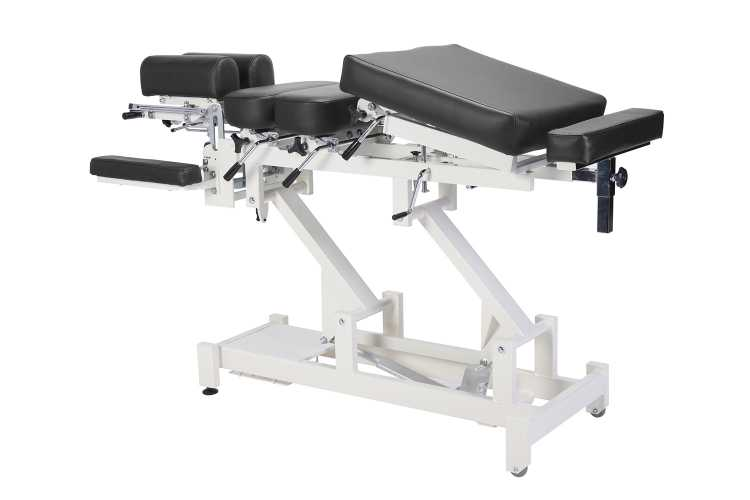 Everyway4all CA130 (CHIROMA) Chiropractic Table BLACK