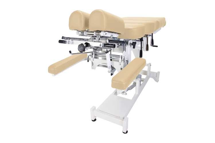 Everyway4all CA130 (CHIROMA) Chiropractic Table BEIGE